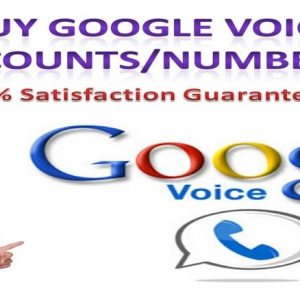 Buy Goolge Voice Accounts